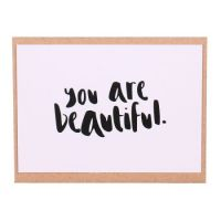 Открытка «You are beautiful»